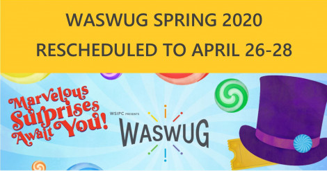 Image for Blog Posts - WASWUG Rescheduled Due to COVID-19 Concerns