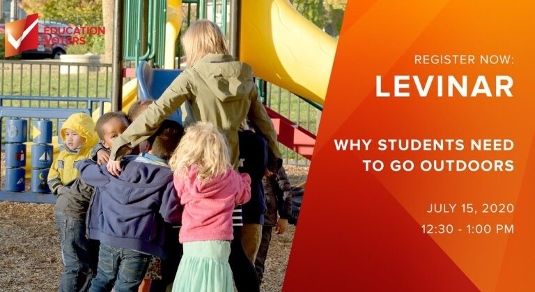 Levinar -Why students need to go outdoors