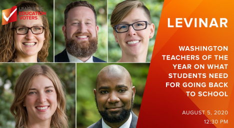 Image for Blog Posts - Free Webinar: Washington Teachers of the Year Discuss What Students Need for Going Back to School