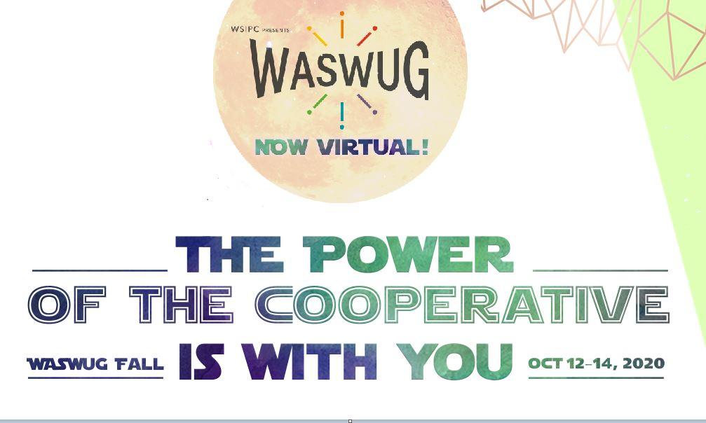 WASWUG Fall - Register Now!