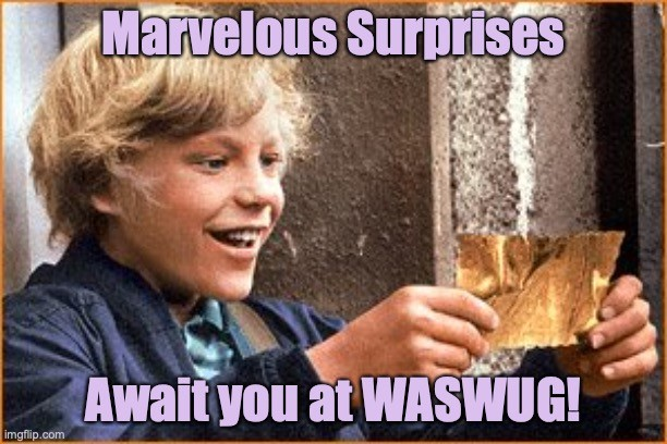 Marvelous surprises await you