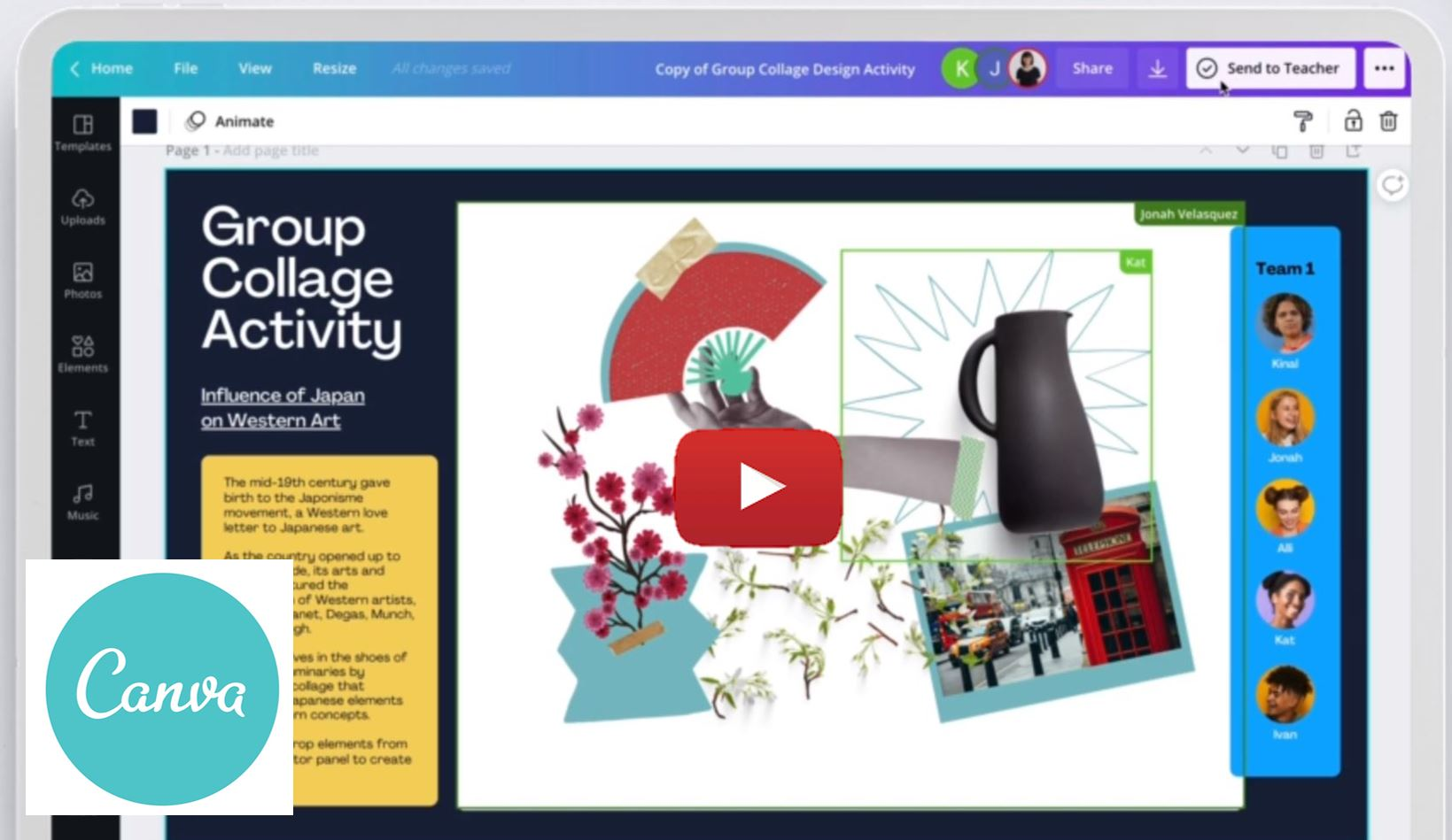 Canva for Education video