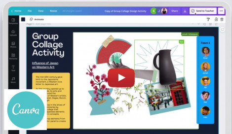 Image for Blog Posts - Free Design and Collaboration Tool for Teachers and Students!