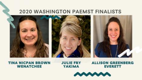 Image for Blog Posts - Three Washington Teachers Announced as STEM Award Finalists!
