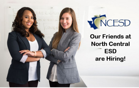Image for Blog Posts - Our Friends at North Central ESD are Hiring!