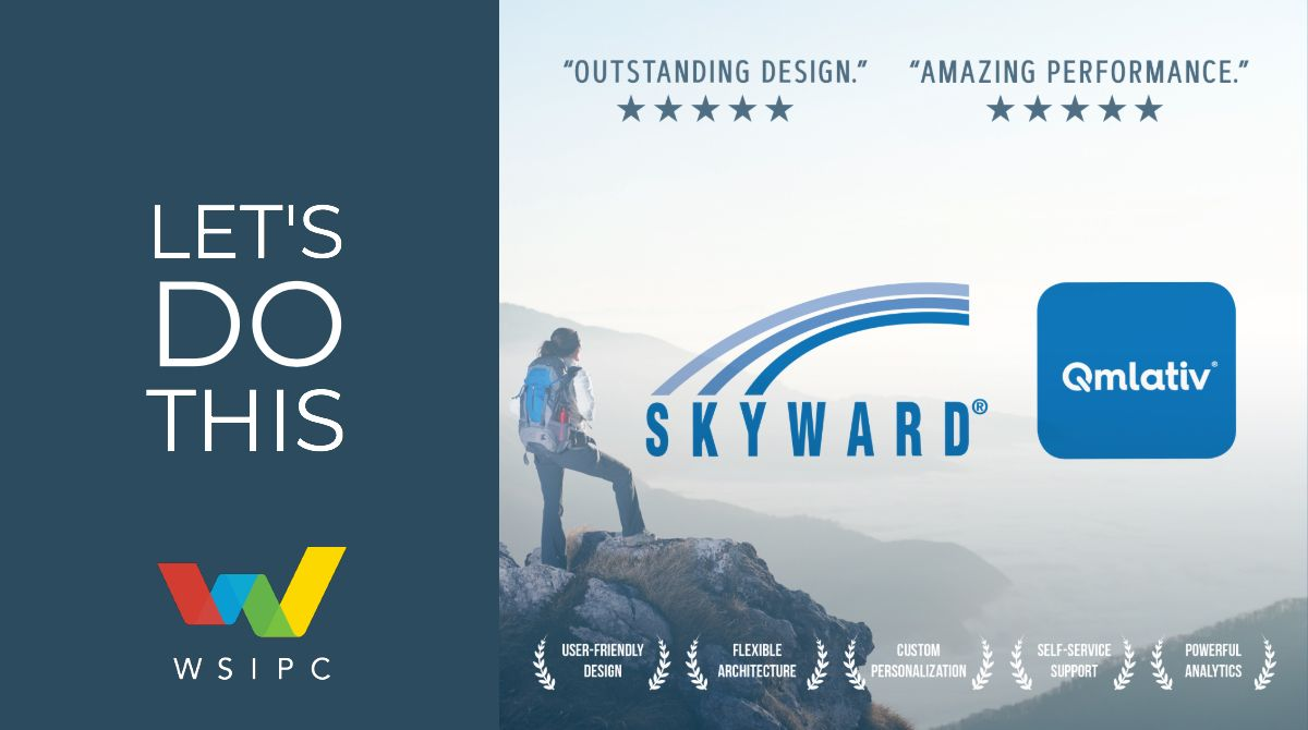 Skyward. Qmlativ. Let's Do This (Image of woman on mountain top)