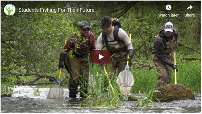 Video - Heritage Students Fishing